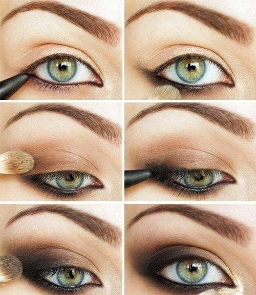 blue-eye-makeup-tutorial2 How to Wear Eye Makeup in six Simple Tips