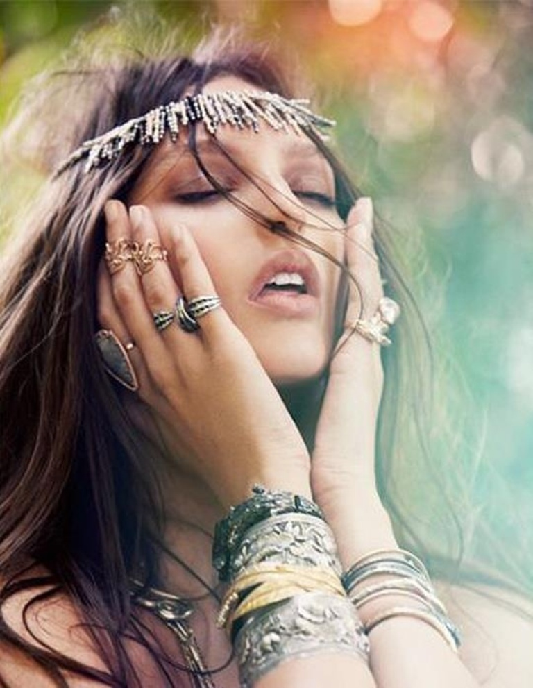 boho-metal-accessories Look Fashionable by Layering Your Jewelry