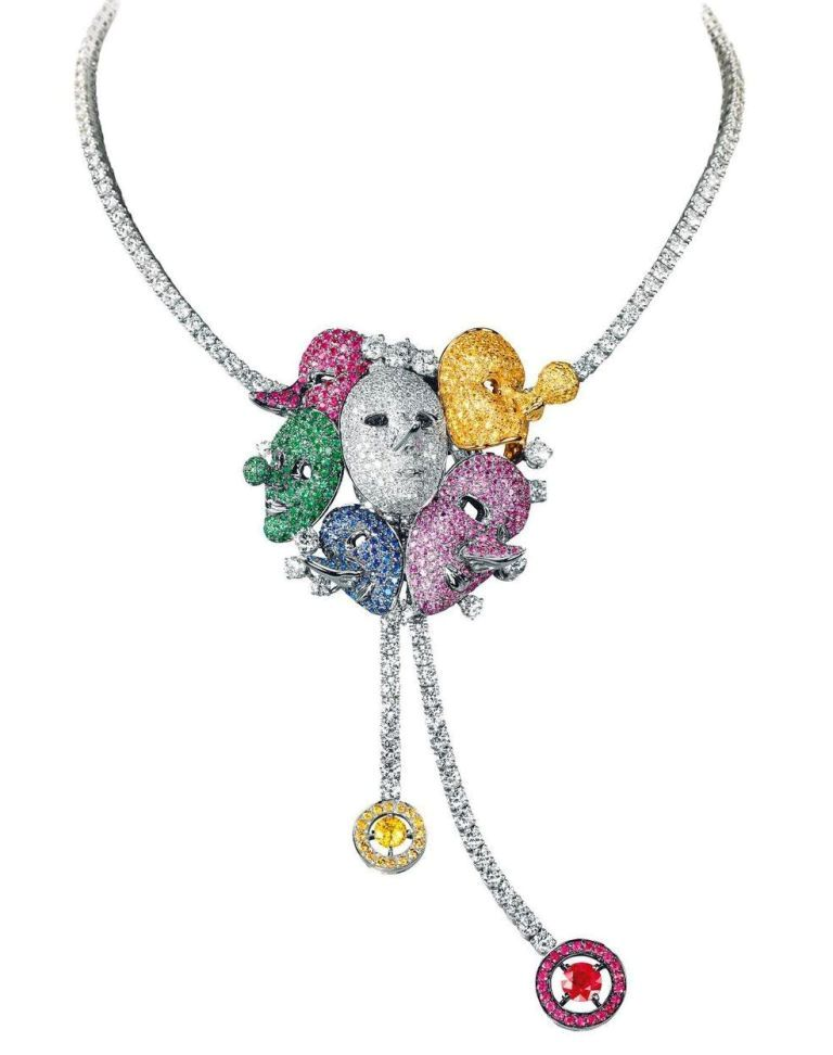 boucheron-cirque-du-soleil-inspiria-necklace-saltimbanco White & Yellow Gold, Which One Is the Best?