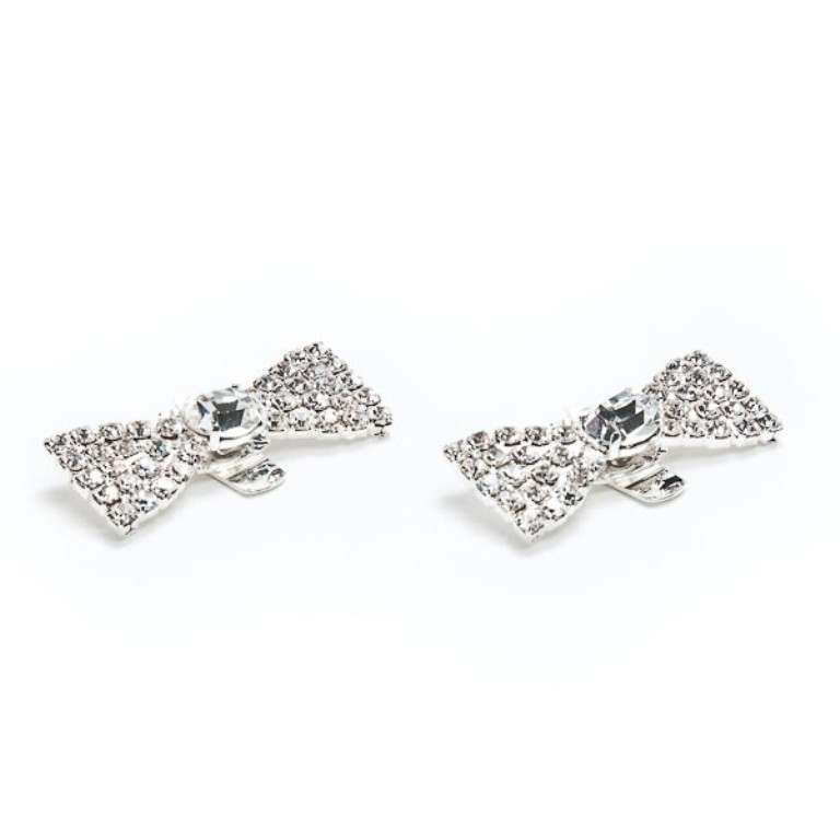 bow-tie-rhinestone-shoe-clips-2-600x600 27 Ideas Bring a New Life to Your Shoes by Adding Shoe Clips & Charms