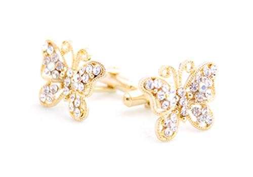 butterflycrystal Cufflinks: The Most Favorite Men Jewelry