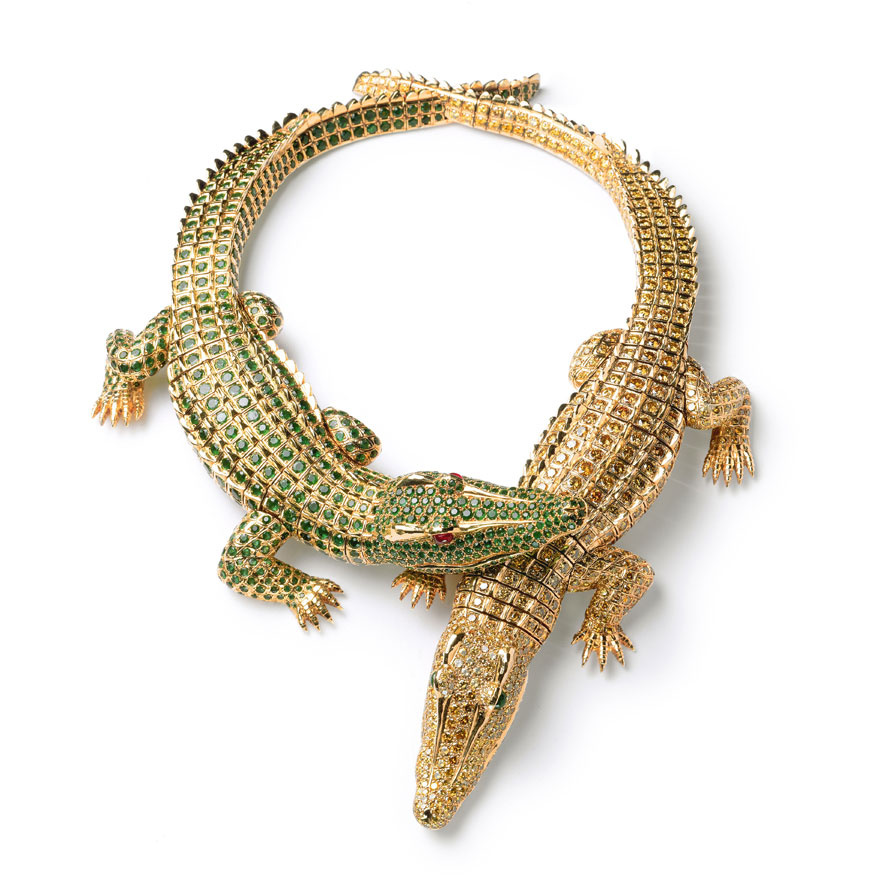 cartier-crocodiles-necklace 69 Dress Jewelry Pieces in the Shape of Your Favorite Animal