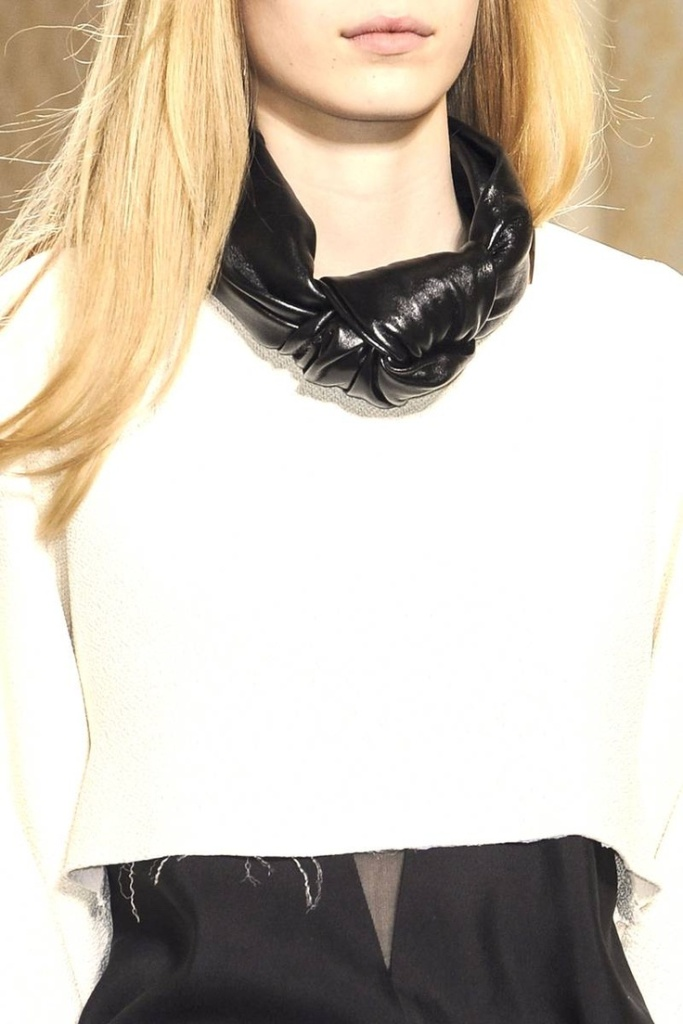 celine-leather-knot Top 25 Breathtaking & Stylish Leather Jewelry Pieces
