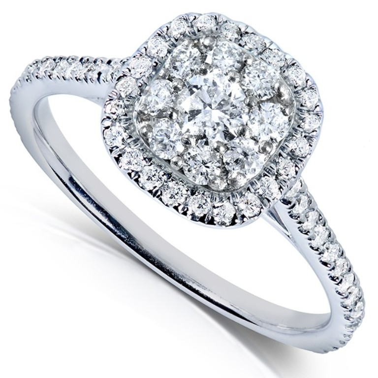cl61765-e_b Cluster Engagement Rings for Those who Are on a Budget