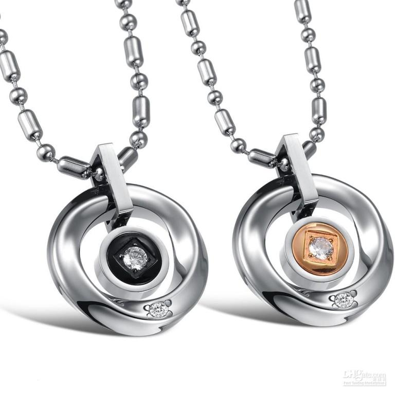 couple-jewelry-for-lovers-stainless-steel How to Clean Your Stainless Steel Jewelry