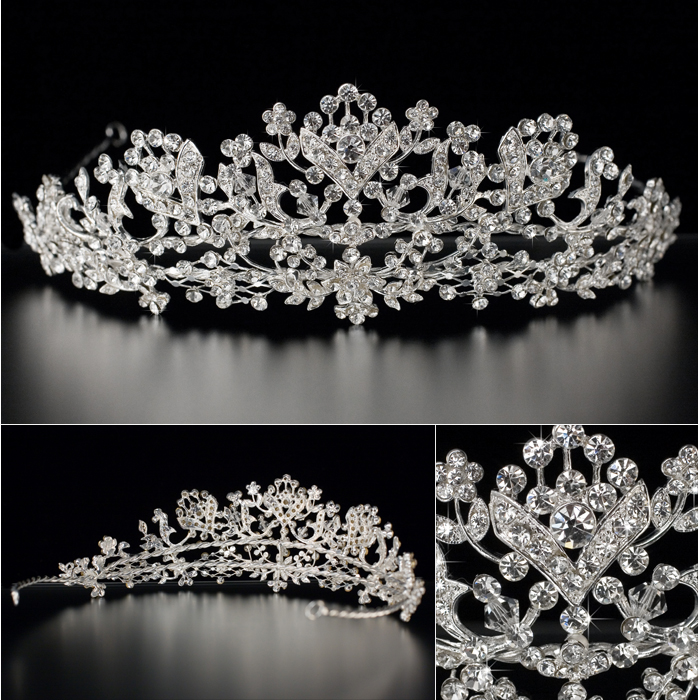 crystal-bridal-jewelry-tiaras Be Like a Queen with Your Crown [79 Newest Trends...]