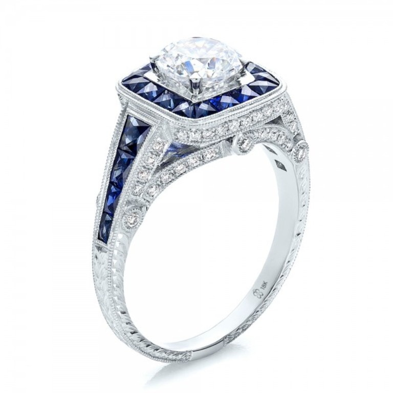 diamond-engagement-ring-style Easy Tricks to Make Your Diamond Look Larger