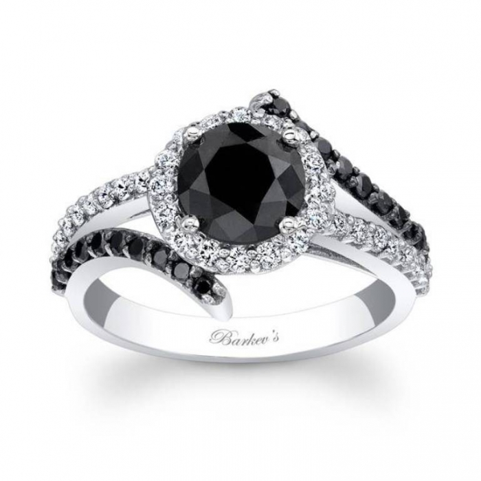 elegant-wedding-ring-with-black-diamond-for-women Easy Tricks to Make Your Diamond Look Larger