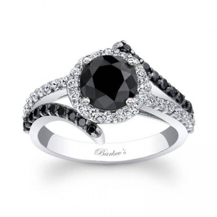 elegant-wedding-ring-with-black-diamond-for-women Easy Tricks to Make Your Diamond Look Larger