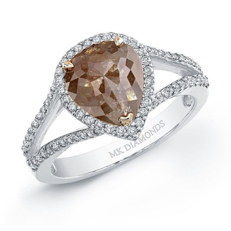 f76bb3ecfbd522b6049caa0fee178cd8 Chocolate Diamond Rings for a Fascinating & Unique Look