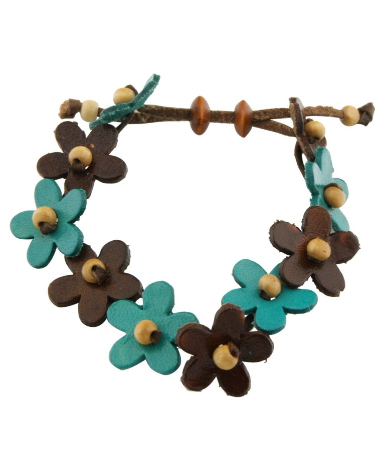 flower_bracelet_2 Top 25 Breathtaking & Stylish Leather Jewelry Pieces