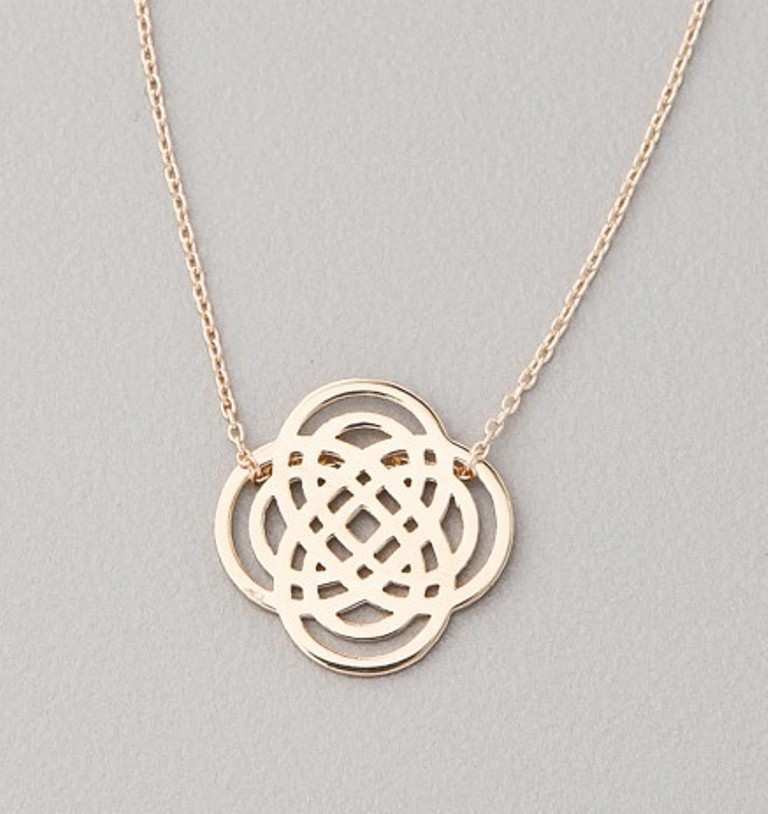 ginette-ny-mini-infinity-necklace-g Infinity Jewelry to Express Your True & Infinite Love