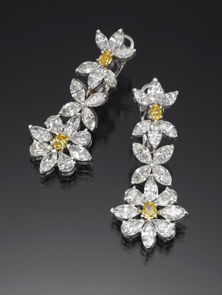 golden-flowers-earings Let's Discover Jewelry Secrets about Gold & Diamonds