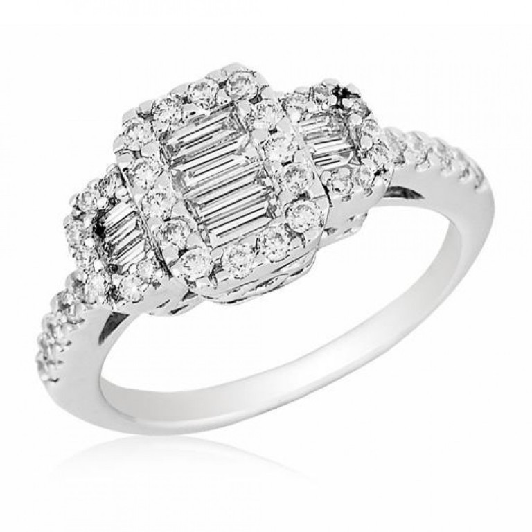 gregg-ruth-diamond-ring-03 Cluster Engagement Rings for Those who Are on a Budget