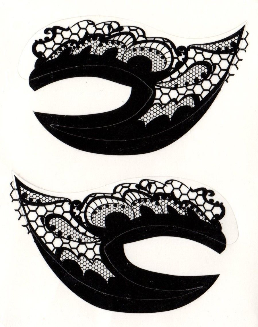 gri1TO2 Best 12 Temporary Makeup Tattoo Designs