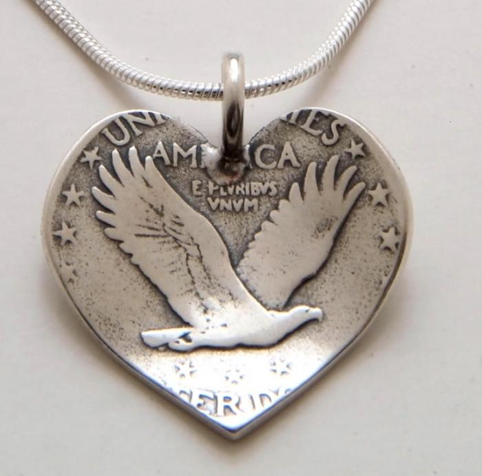 heart-quarter-pendant-back 25 Unique & Fashionable Coin Jewelry Pieces