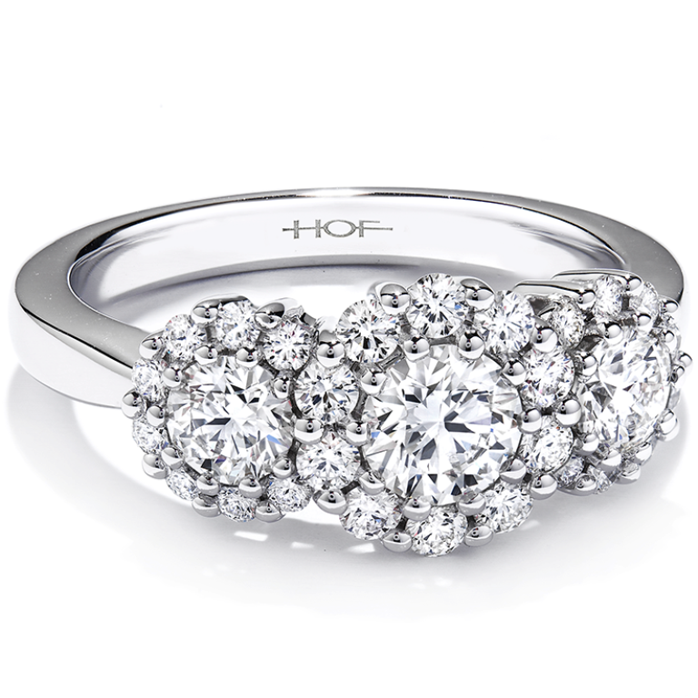 hearts-on-fire-engagement-rings-9-122713 Cluster Engagement Rings for Those who Are on a Budget