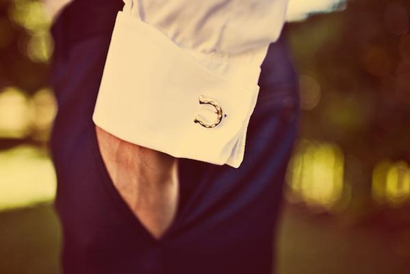 horseshoe-wedding-cufflinks Cufflinks: The Most Favorite Men Jewelry