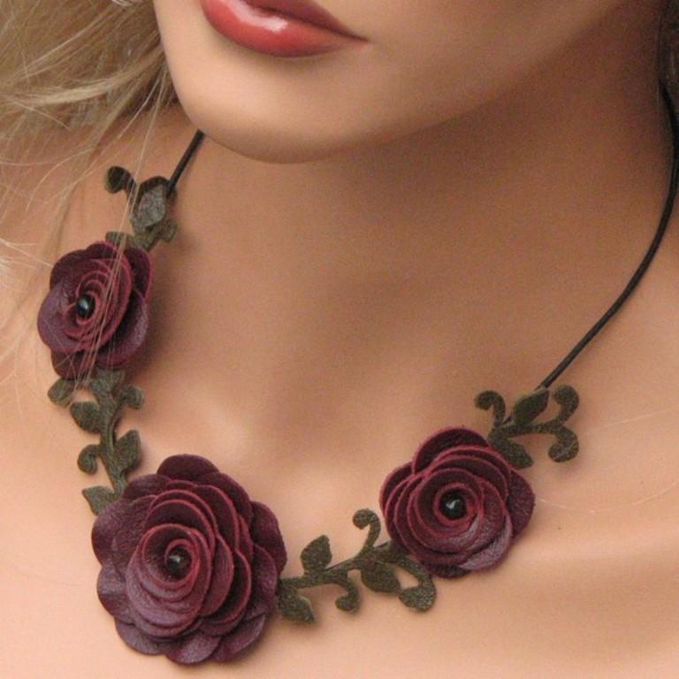 il_570xN.213148239 Top 25 Breathtaking & Stylish Leather Jewelry Pieces