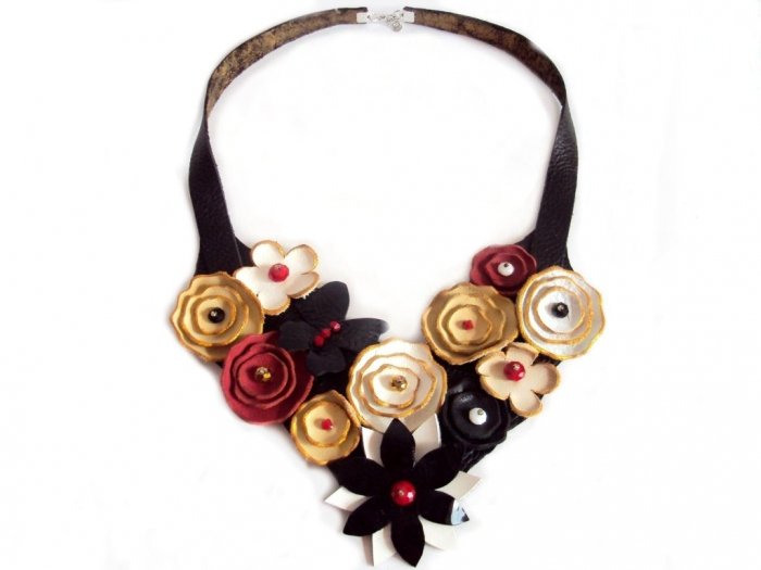 il_fullxfull.314128867 Top 25 Breathtaking & Stylish Leather Jewelry Pieces