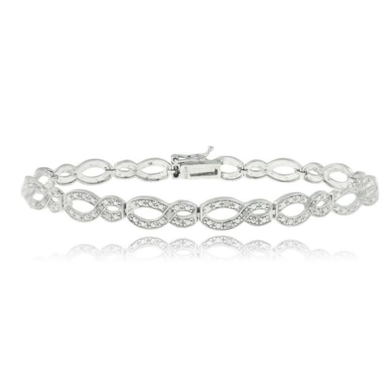 infinity-diamond-bracelets-for-women-9icikodb Infinity Jewelry to Express Your True & Infinite Love