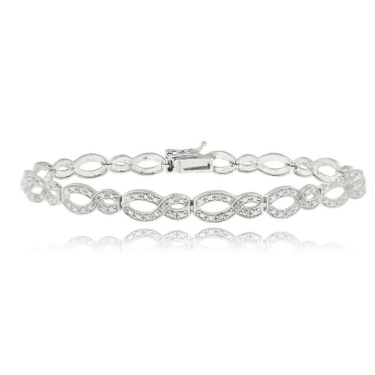 infinity-diamond-bracelets-for-women-9icikodb Infinity Jewelry to Express Your True & Infinite Love