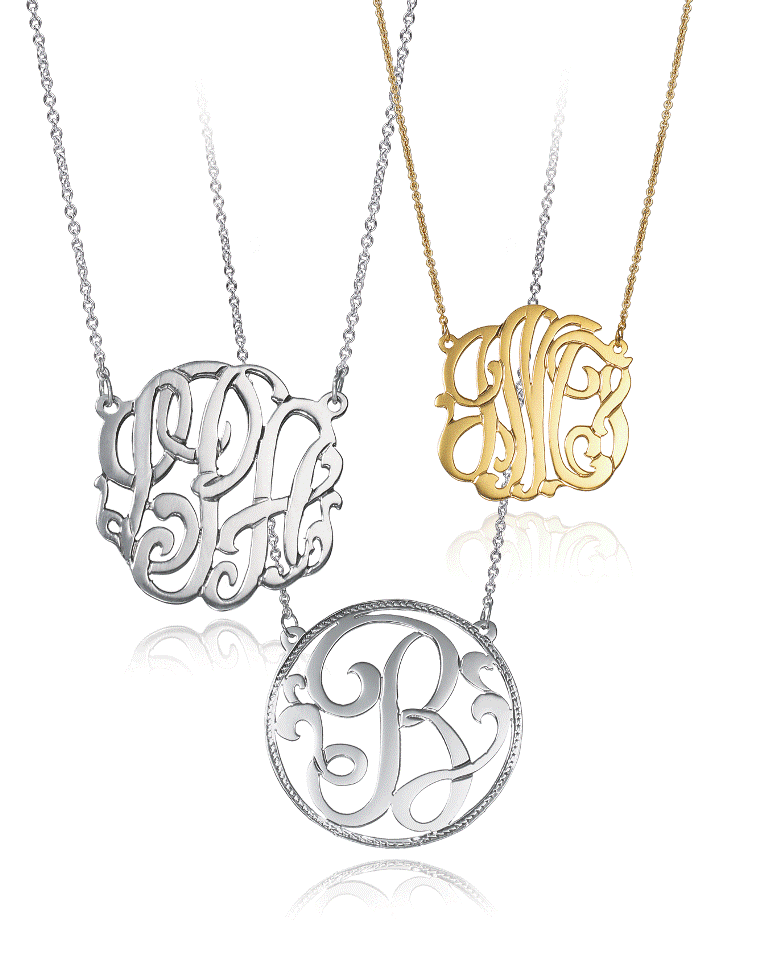 initial_pendants2-1 Express Your Love by Presenting Monogram Jewelry
