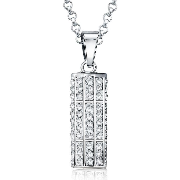 jpf-swiss-stainless-steel-necklace-european 30 Everlasting & Affordable Stainless Steel Jewelry