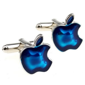 mac-blue-apple-cufflinks-of-jewelry-cufflinks-155965 Cufflinks: The Most Favorite Men Jewelry