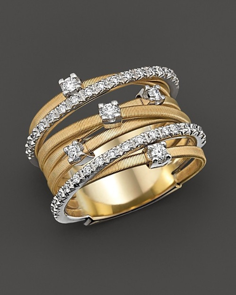 marco-bicego-goa-collection-18-kt-gold-and-diamond-ring-womens-fine-jewelry How to Tell Real Jewelry from Fake