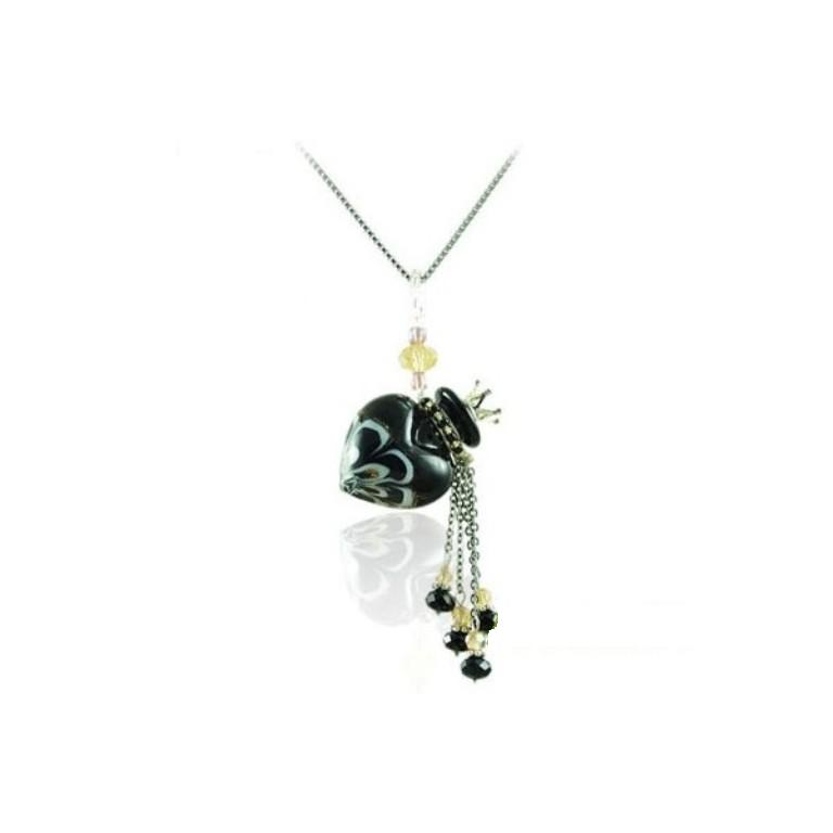 mini-diffuser-necklace-wholesale-heart-shape-q464 Aromatic Jewelry for a Fashionable Look & Fresh Smell All the Time