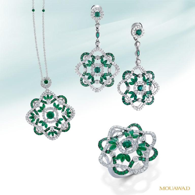 mouawad-diamond-leila-jewelry-oct01 Tsavorite as a Strong Competitor to Emerald