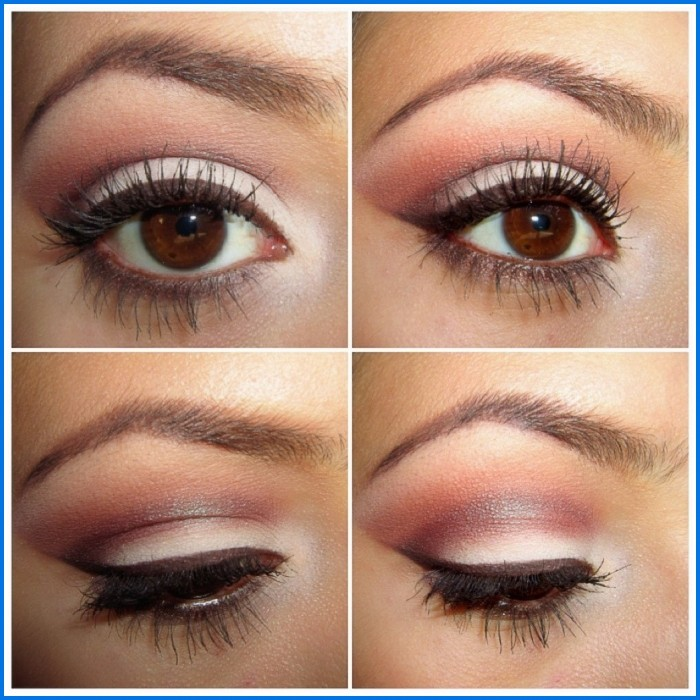 natural-eye-makeup-for-brown-eyes-step-by-step-700x700 How to Wear Eye Makeup in six Simple Tips