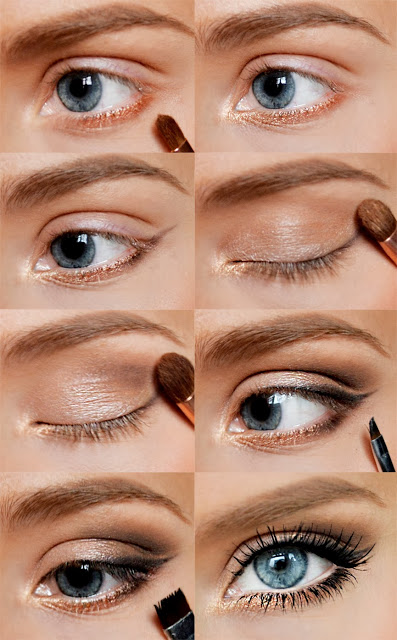 natural-make-up-for-blue-eyes How to Wear Eye Makeup in six Simple Tips