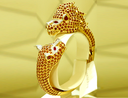 newgoldjewellerydesigns 69 Dress Jewelry Pieces in the Shape of Your Favorite Animal