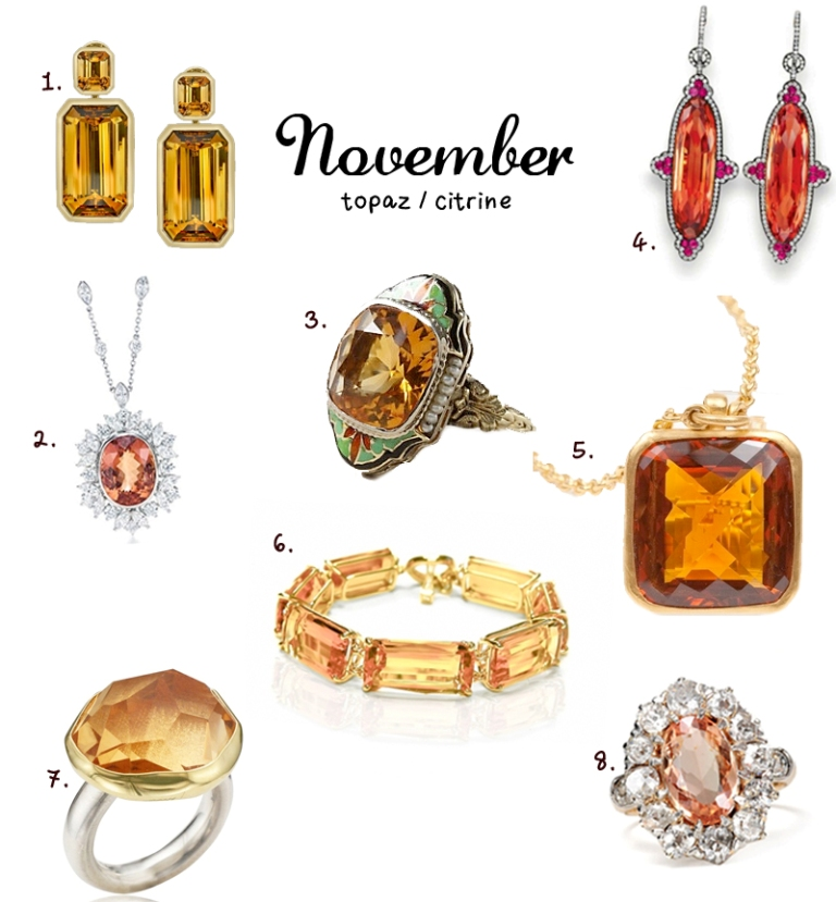 november_birthstone1 Meanings & Qualities which Are Associated with Birthstones
