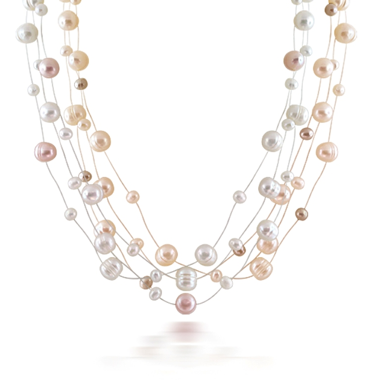 pearl-necklace-multicolor-6074 How to Take Care of Your Pearl Jewelry