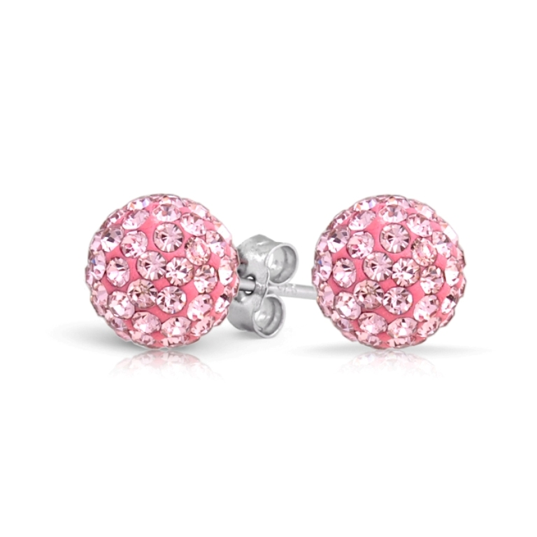 pink-topaz-shamballa-stud-earrings_cb-ov0071 Pink Topaz Jewelry as a Romantic Gift
