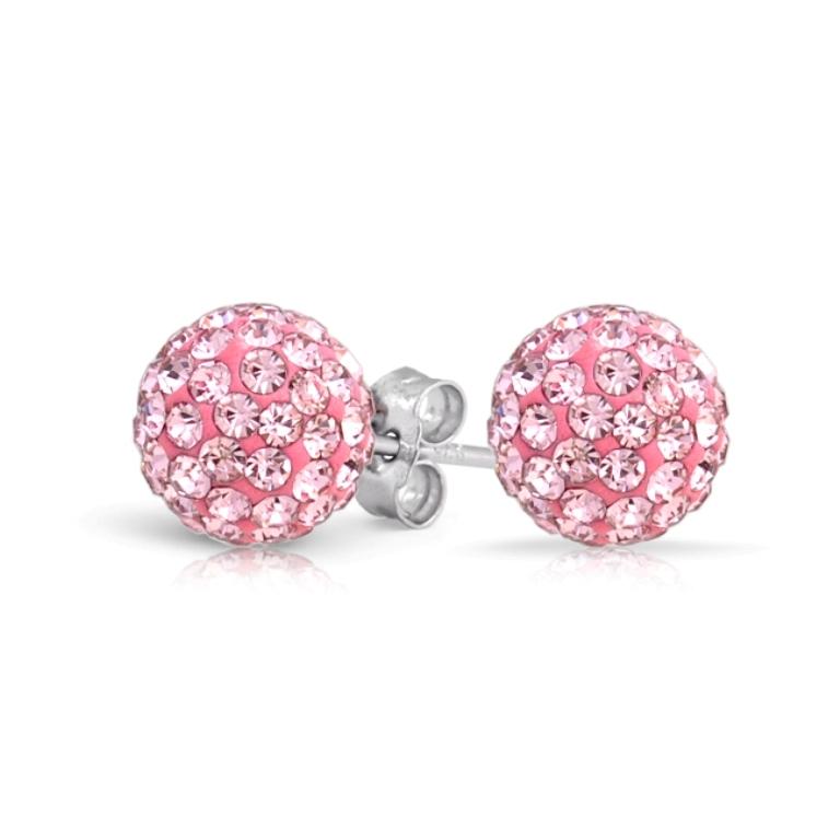 pink-topaz-shamballa-stud-earrings_cb-ov0071 Pink Topaz Jewelry as a Romantic Gift