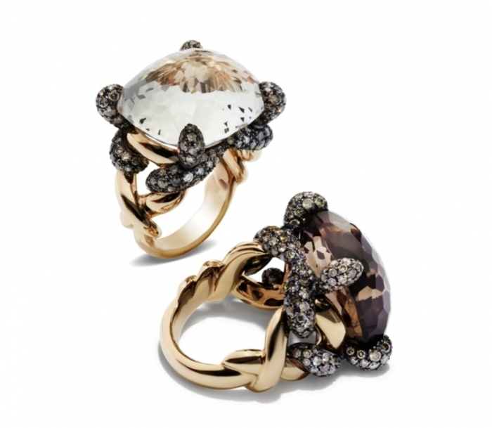 pomellato-tango-rings Discover the Elegance & Magnificence of Italian Jewelry