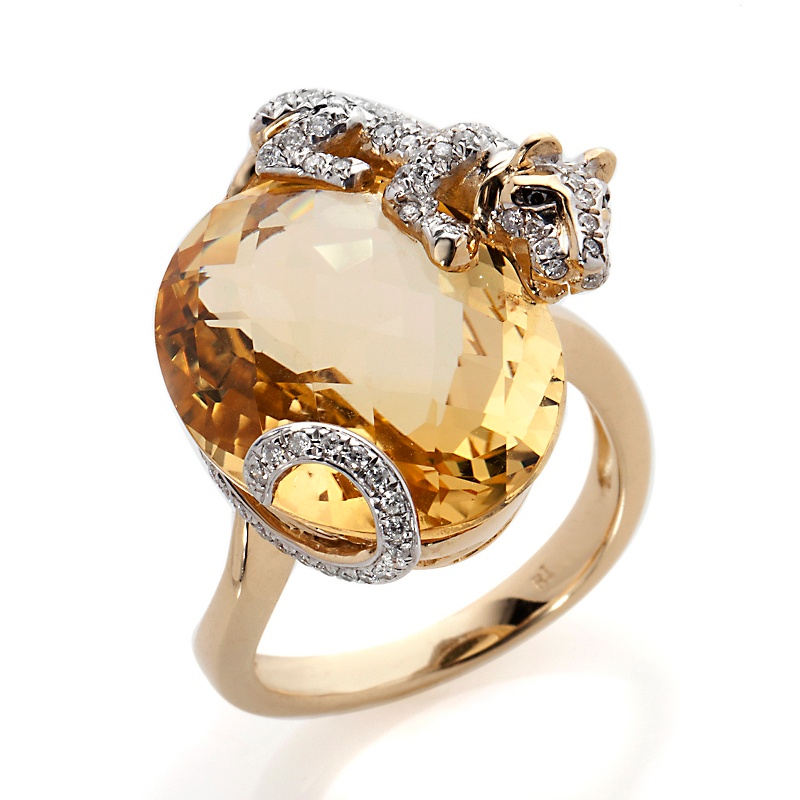 rarities-fine-jewelry-with-carol-brodie-18k-tiger-ring-d-20121102122403383228711 69 Dress Jewelry Pieces in the Shape of Your Favorite Animal