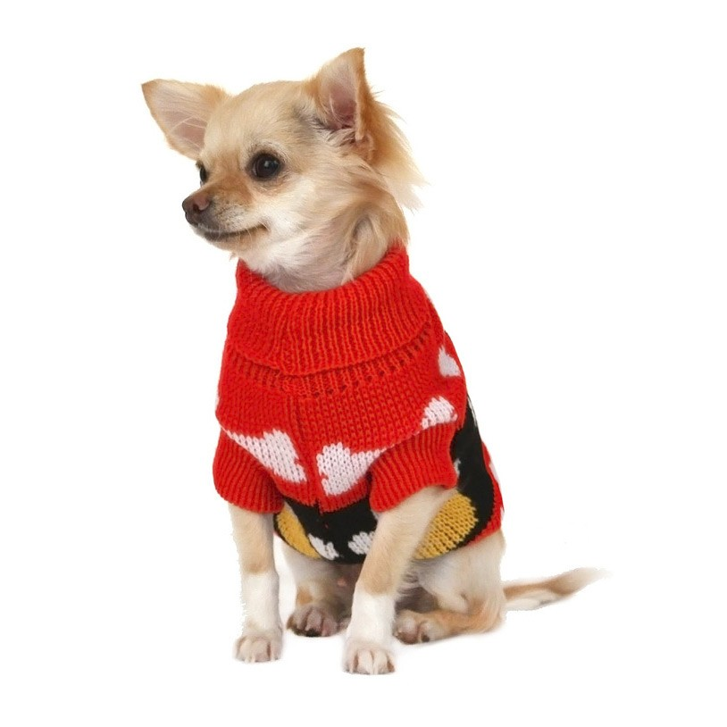 red-paws-dog-jumper_2 Top 35 Winter Clothes for Dogs