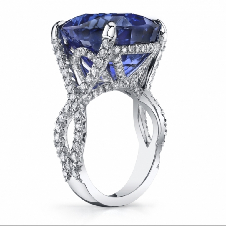 sapphire-and-diamond-rings-5 How to Take Care of Your Diamond Jewelry