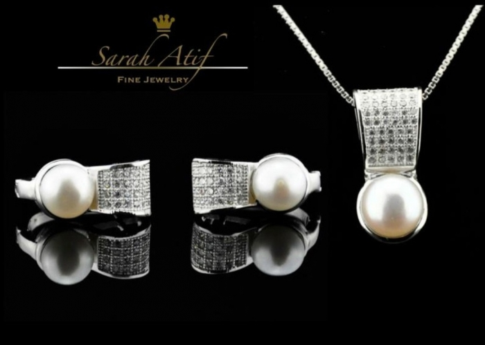 sara-atif-pearl-jewelry-2013-trend How to Take Care of Your Pearl Jewelry