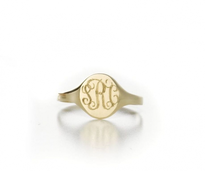 sarahchloe-w724 Express Your Love by Presenting Monogram Jewelry
