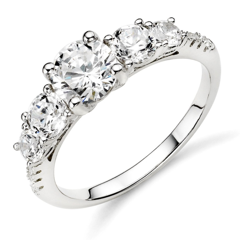 silver-diamond-wedding-rings-for-women-ugoermee Easy Tricks to Make Your Diamond Look Larger