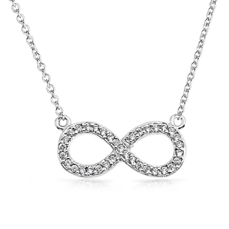 silver-pendant-infinity-cz-necklace_pfs-55-0418_1 Infinity Jewelry to Express Your True & Infinite Love