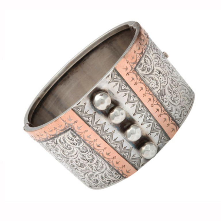 silver-victorian-bangles-adorn-london-jewelry-blog 25 Victorian Jewelry Designs Reflect Wealth & Beauty