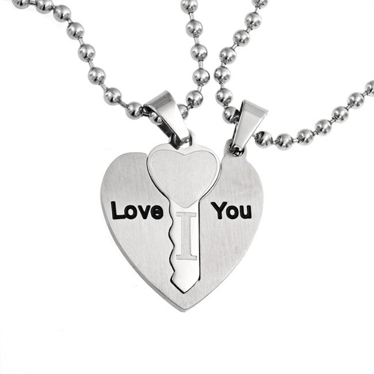 stainless-steel-key-hear-pendant_hst-hsp10903_1 30 Everlasting & Affordable Stainless Steel Jewelry