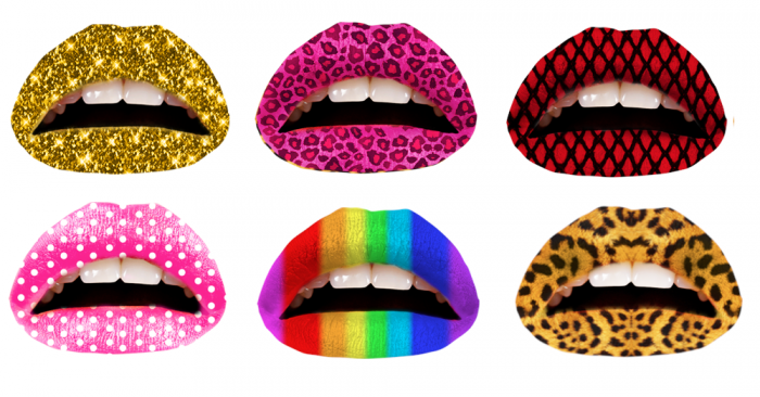 tattoo-lips Best 12 Temporary Makeup Tattoo Designs